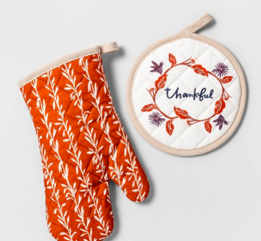 Potholder And Mitt