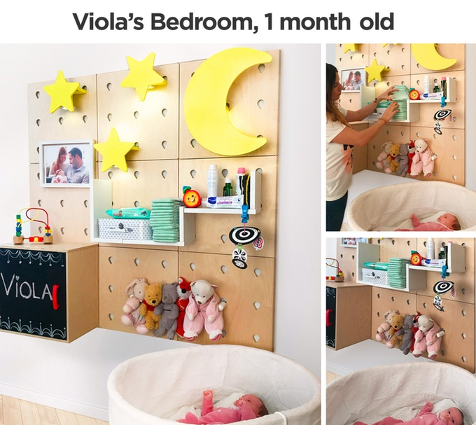Newborn Baby Room Makeover