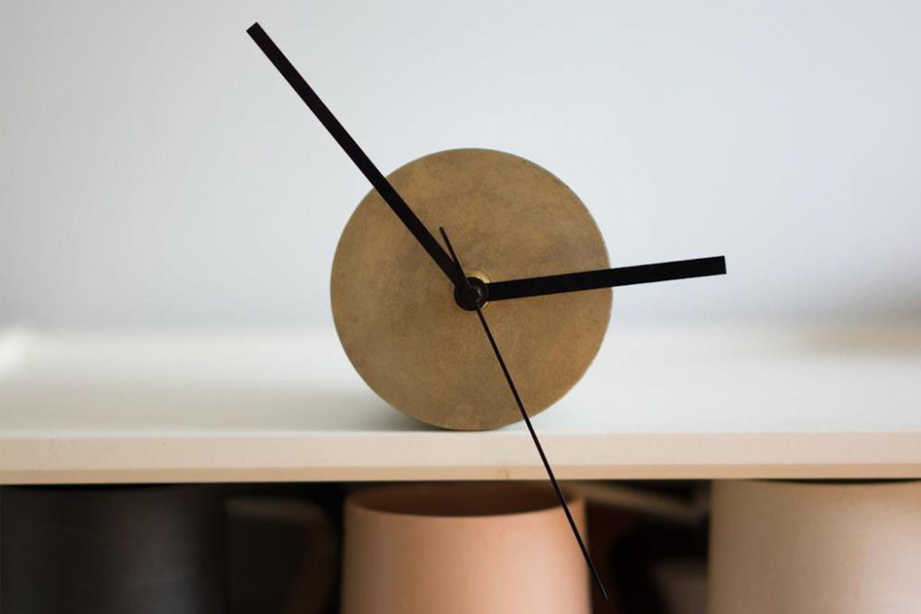 The Tangent Clock