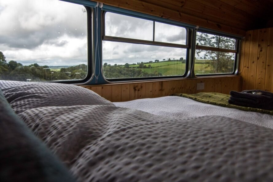 Travel with Double Decker Bus Hotel