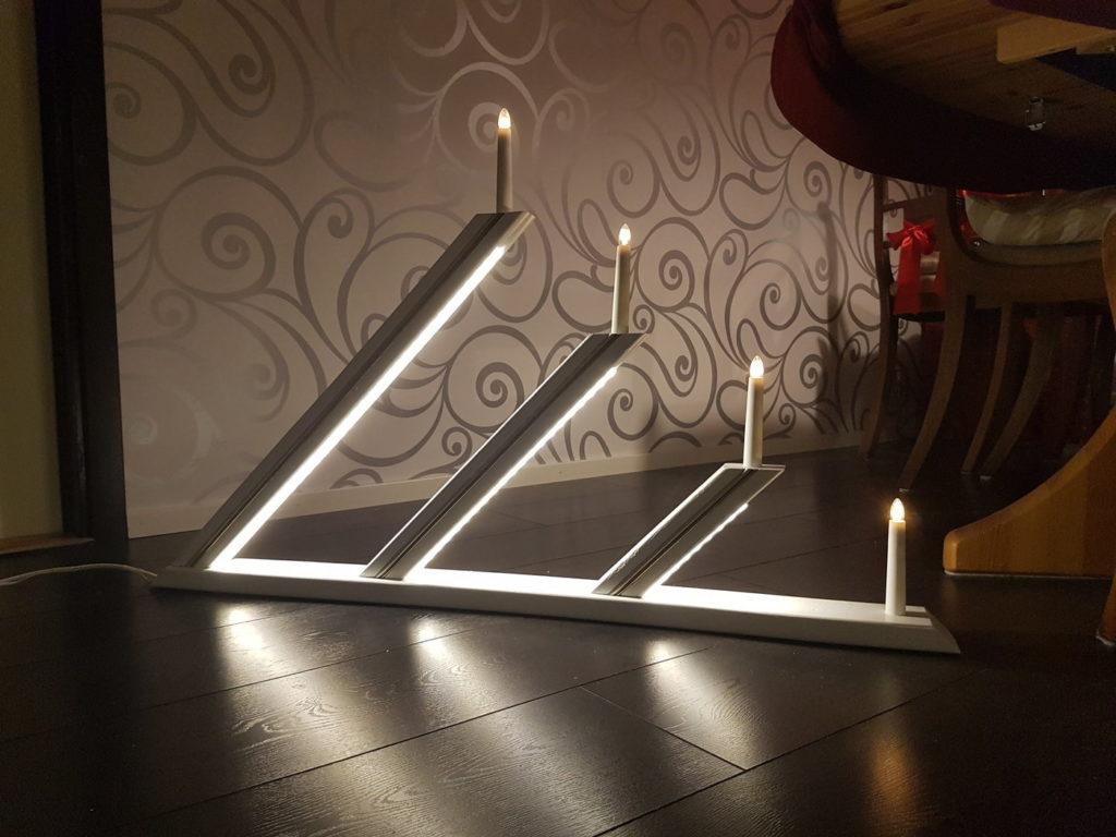 Candlestick Light Design for Christmas