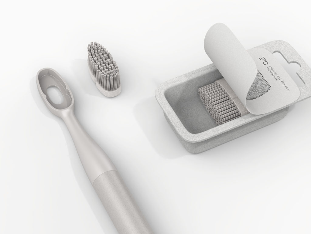 Reusable 2°C Toothbrush