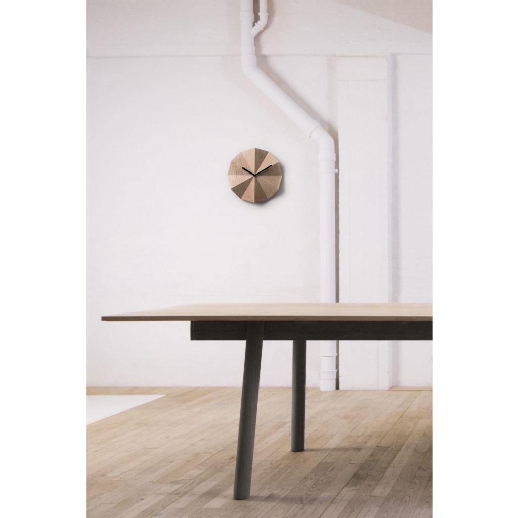 Delta Oak Wood Clock