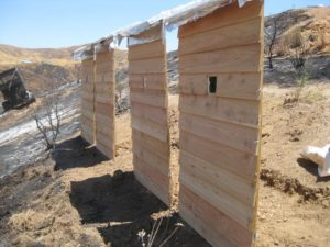 Foil Wrapped Homes To Fight Wildfire
