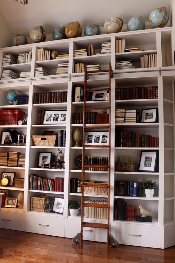 vertical bookshelves