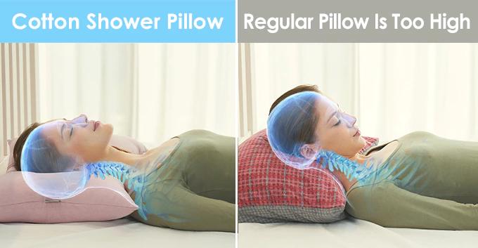 Best Cotton Shower Pillow