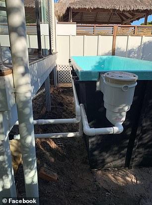 Turns Skip Bins Into Swimming Pool