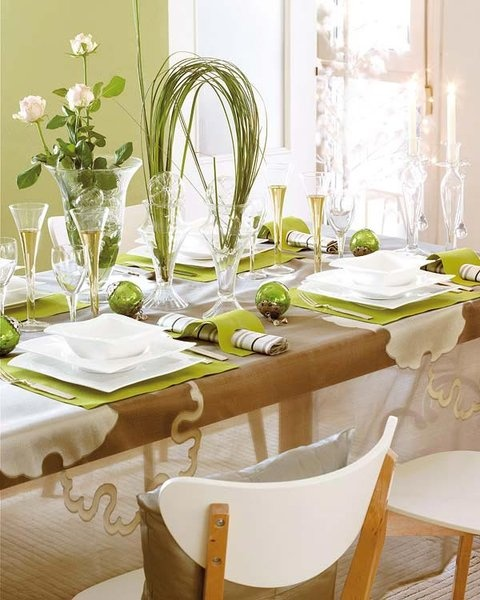 Add greenery to your table