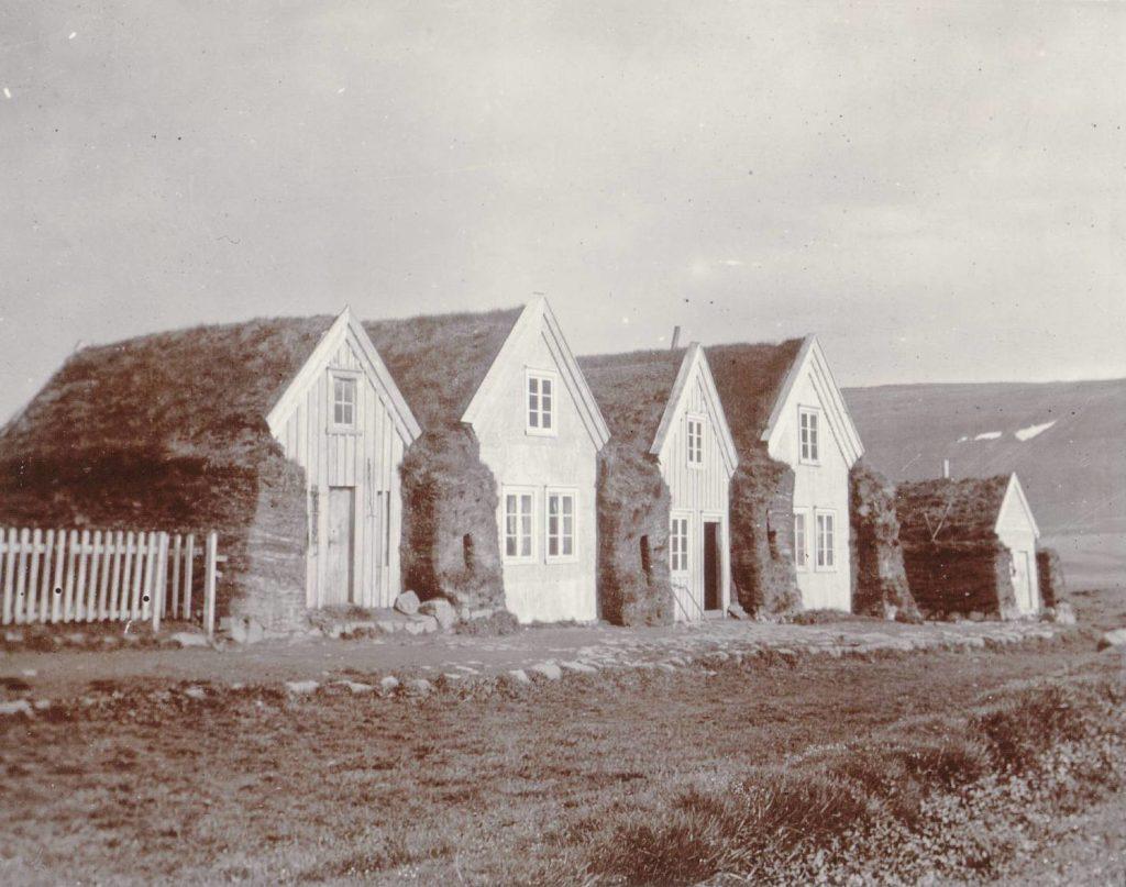 Modern Icelandic Turf Houses