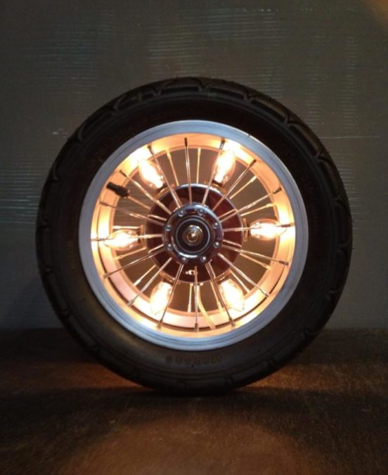 Tyres As Ambiance Lights
