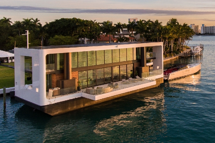 Miami Floating Mansion