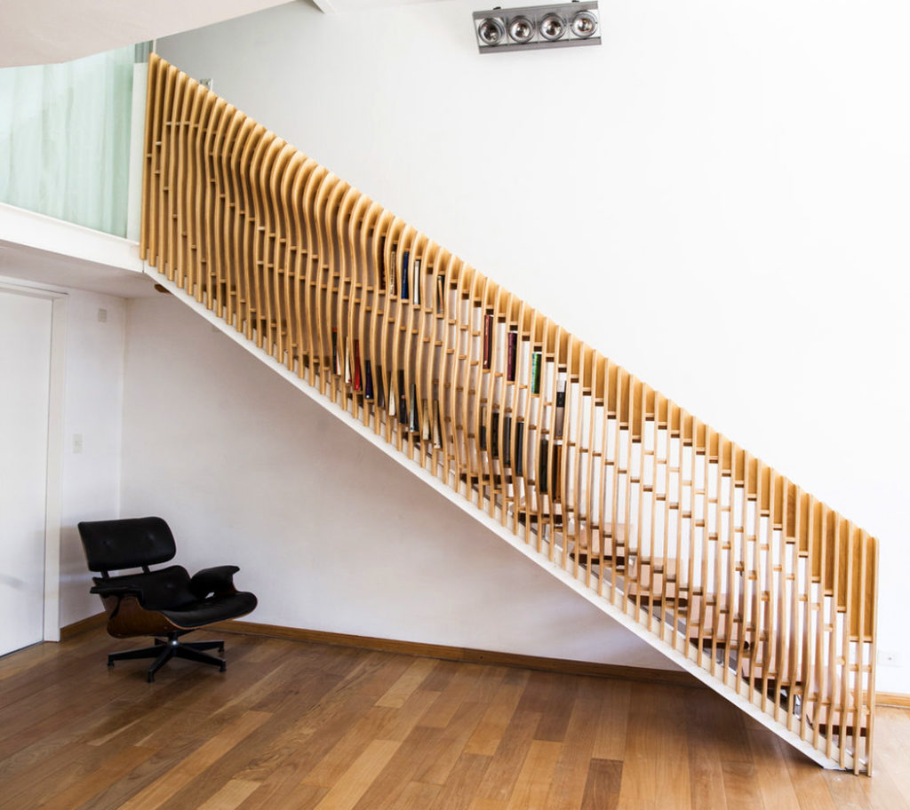 Multifunctional Staircase for Stores Book