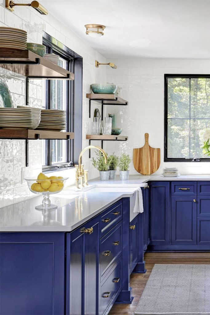 No More All-White For Kitchens