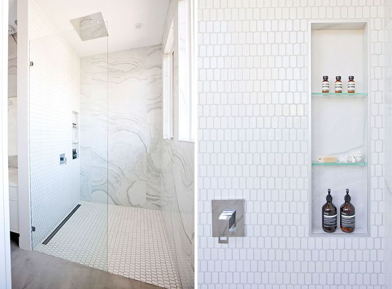 Best design of the shower niche