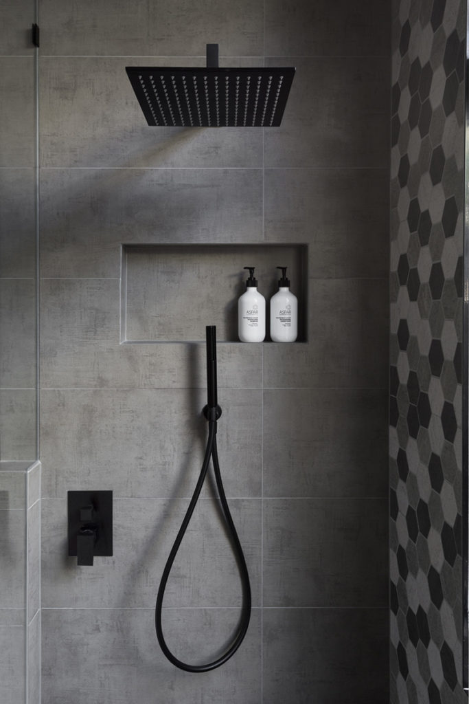 Height And Design For A Shower Niche
