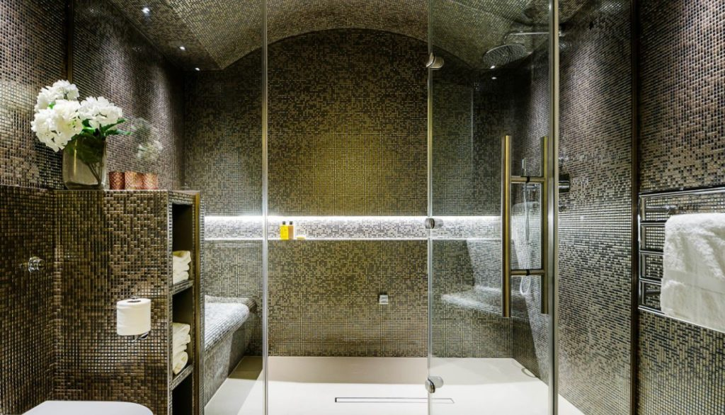 Best ideal height of a shower