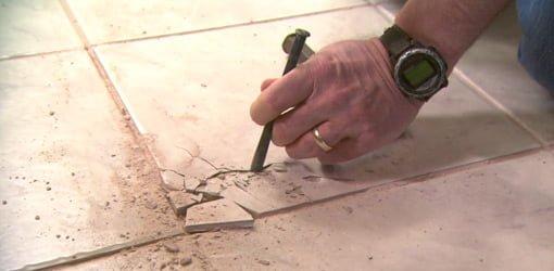 Fix Broken Floor Tile