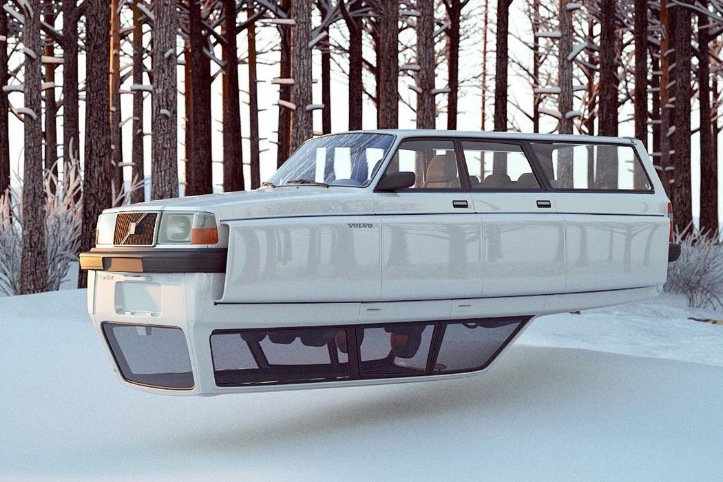 Vintage Volvo 240