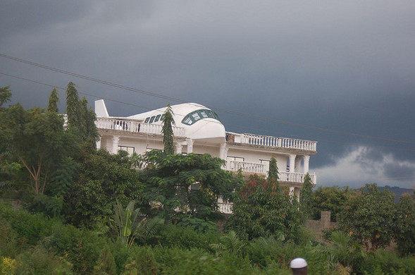 This Abuja Airplane House Showcases
