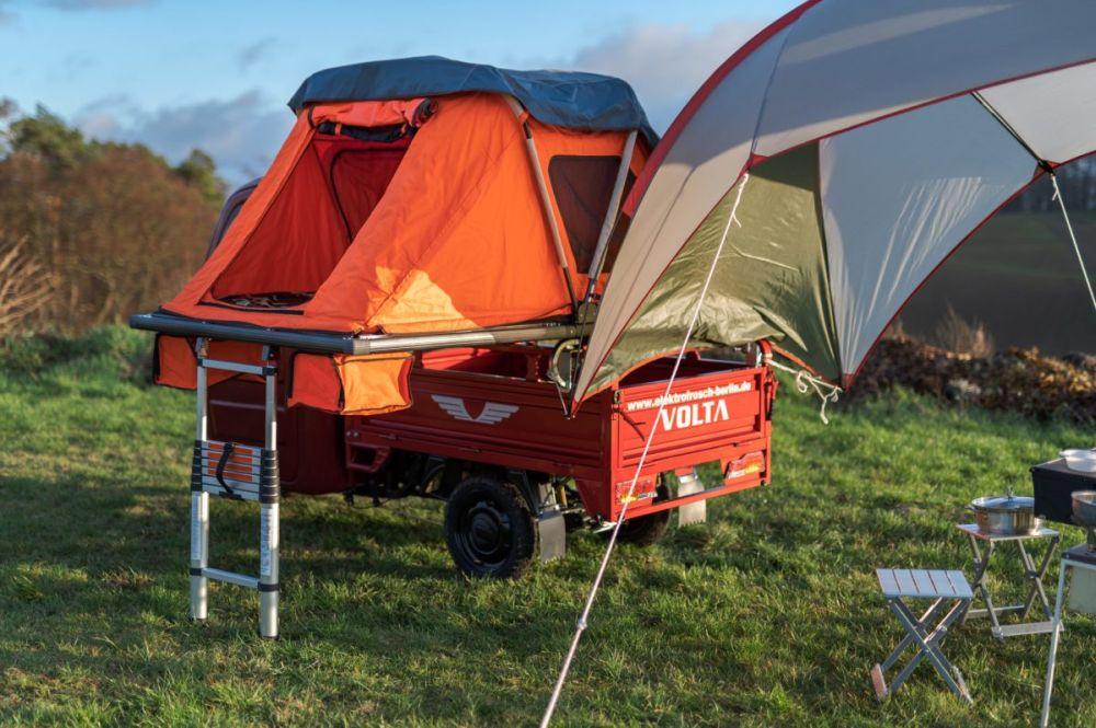 Elektro Frosch micro camper home