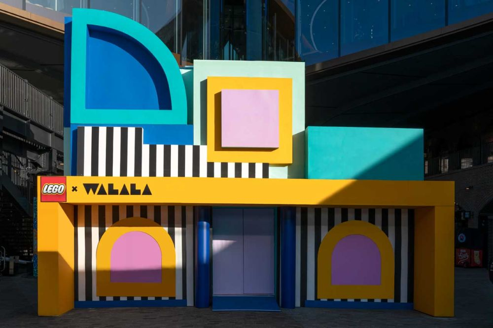 camille walala lego house of dots