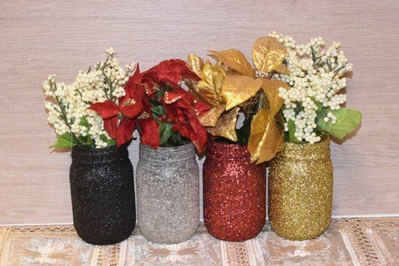 Sparkly Decor Arrangements