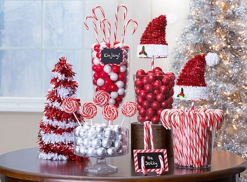 Candy Cane Decor Piece