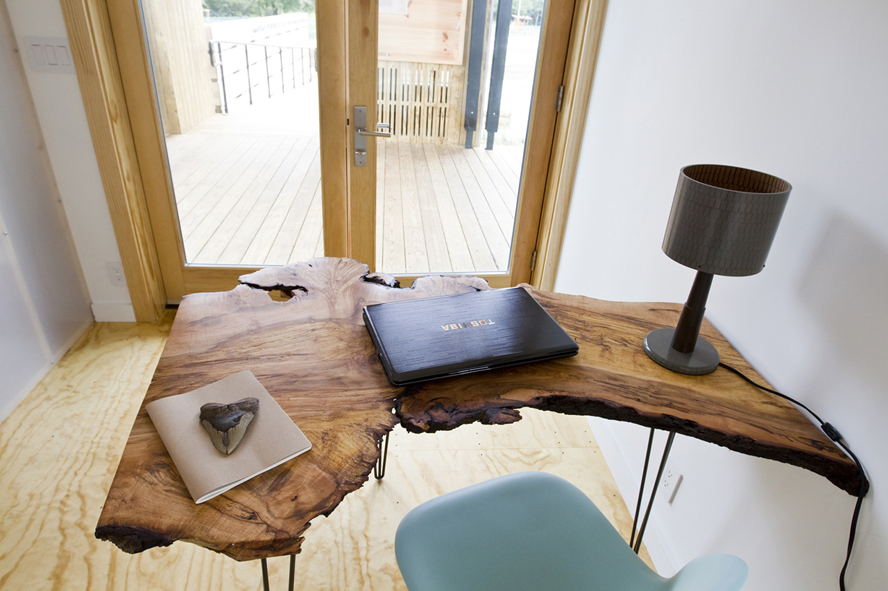 Rustic Wooden Desk
