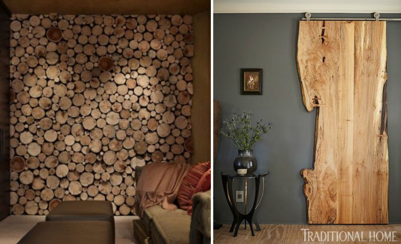 Wood Centerpieces Around The House