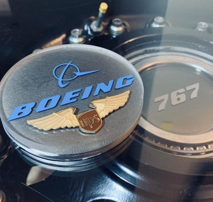 Boeing 737 Main Wheel Coffee Table