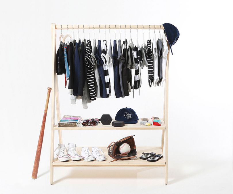 Freestanding Clothing Rack