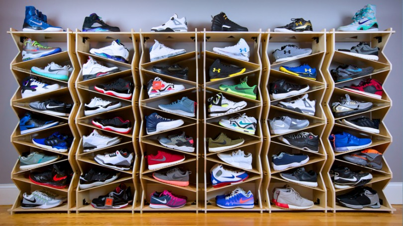 Stack Your Shoes