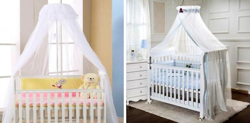 Cradle Canopy Bed