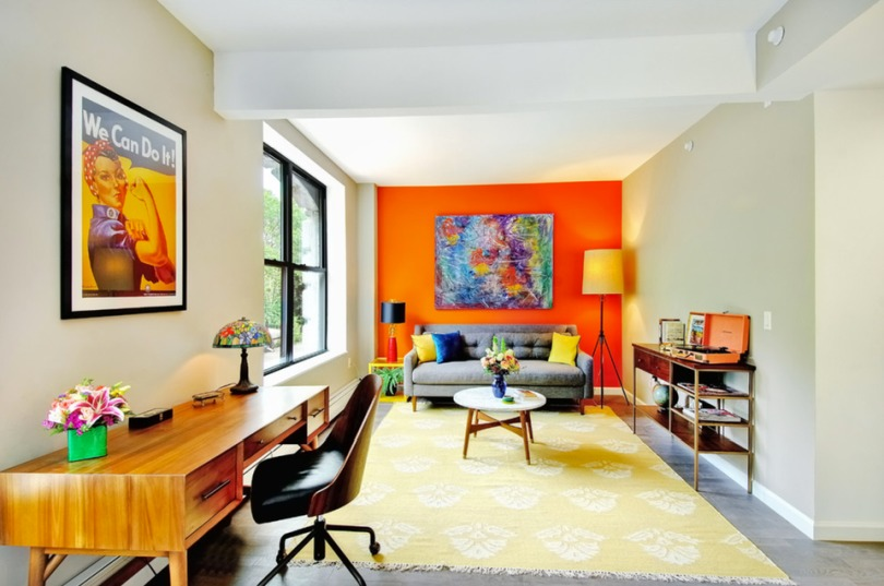 Create Positive Vibe in Your Home Through Color