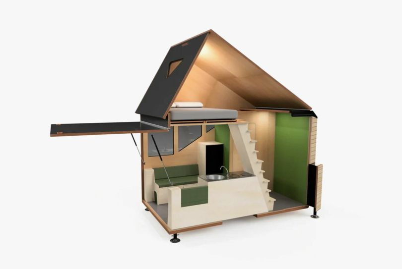 Haaks Two-Story Tiny House on Wheels
