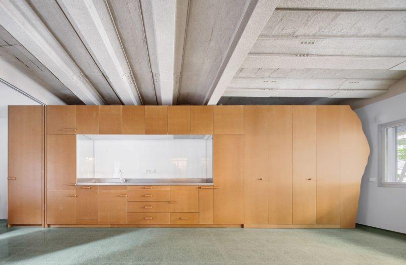 MDF Storage Walls by Adrià Escolano