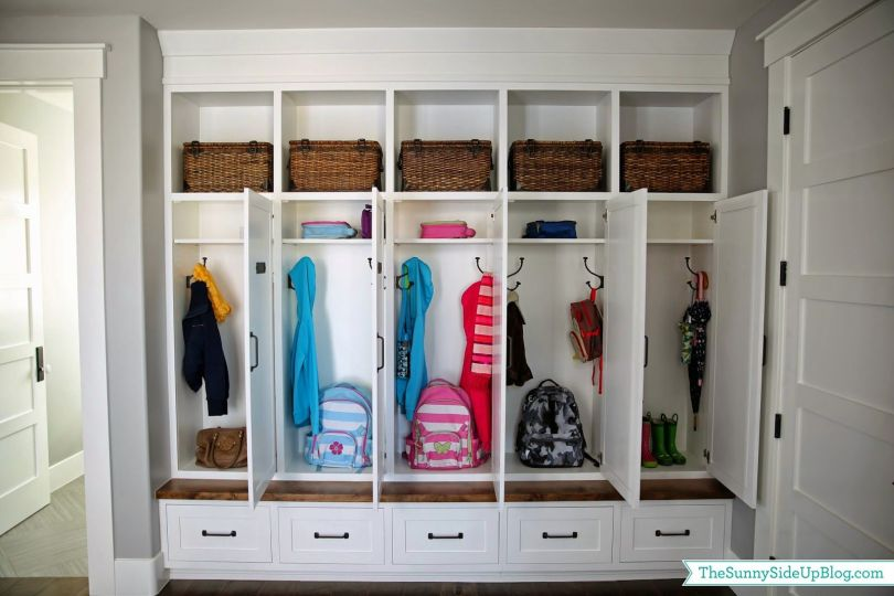 Mudrooms With Ample Closets