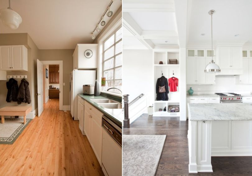 Blend Mudroom With Your Kitchen