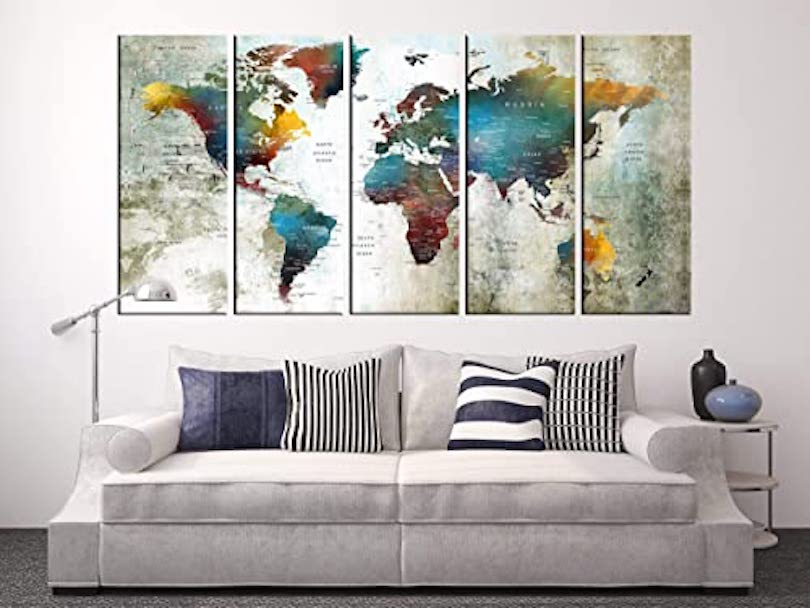 Hang a Personalized Map
