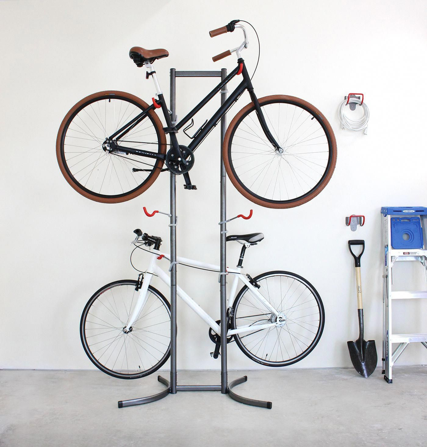 Park your ride on a chic bike stand