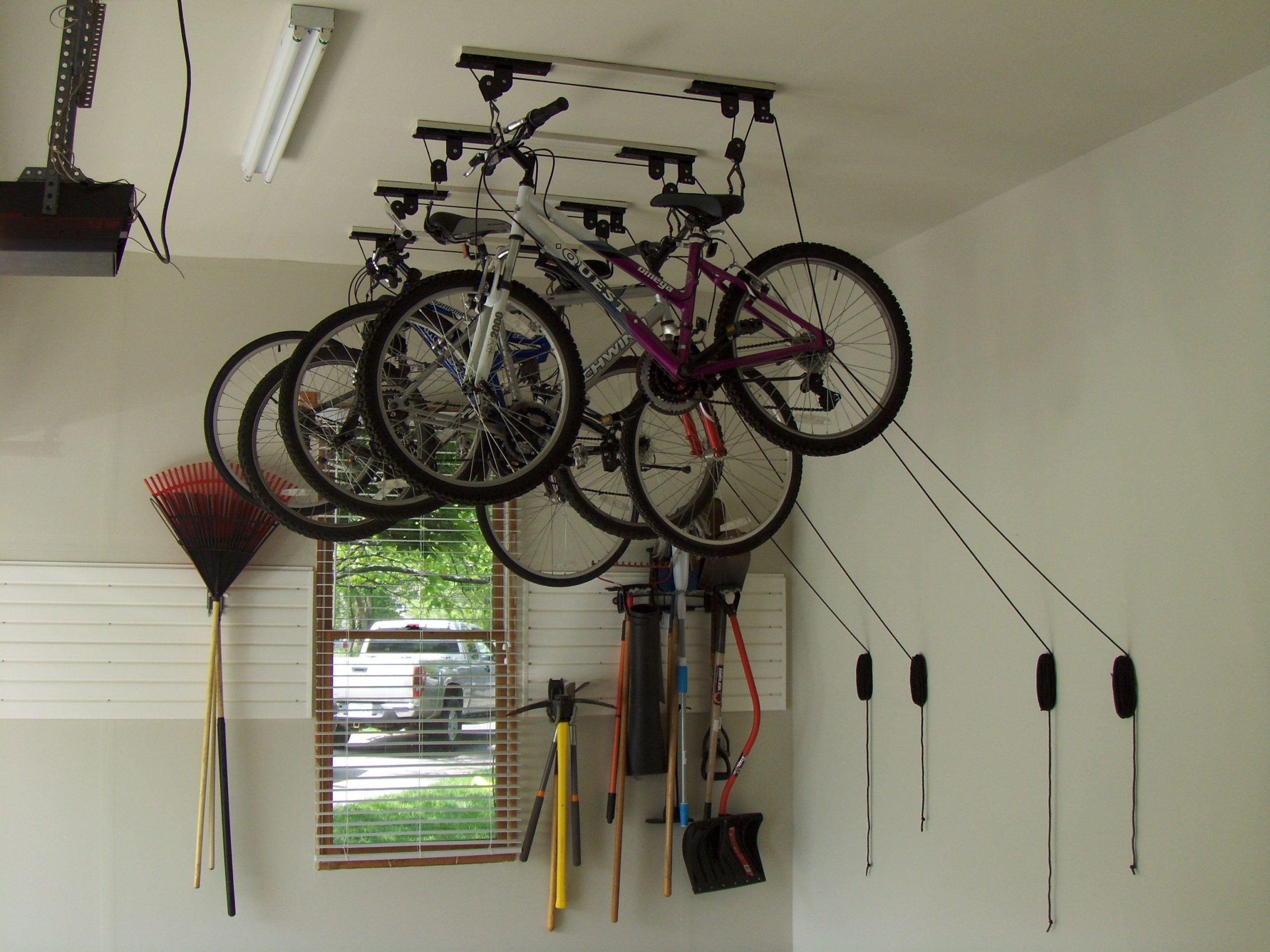 store your bike on Ceiling