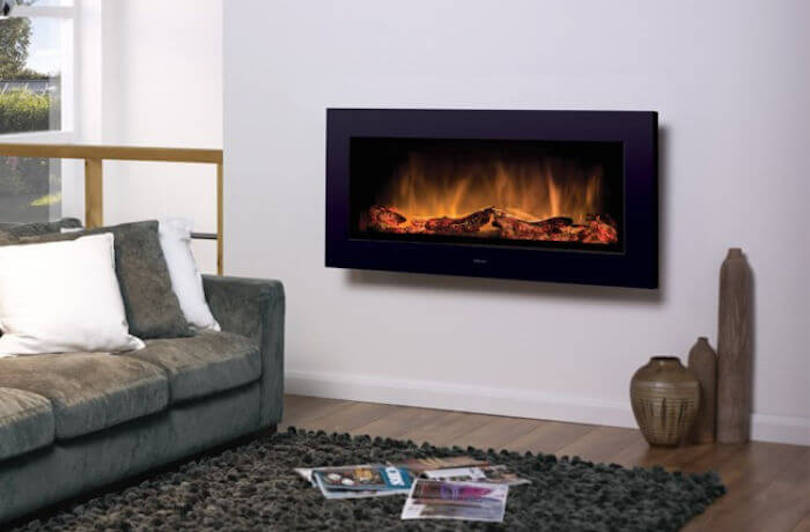 Wall-Mounted Fireplace