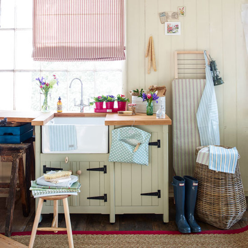 Countrify a small utility space