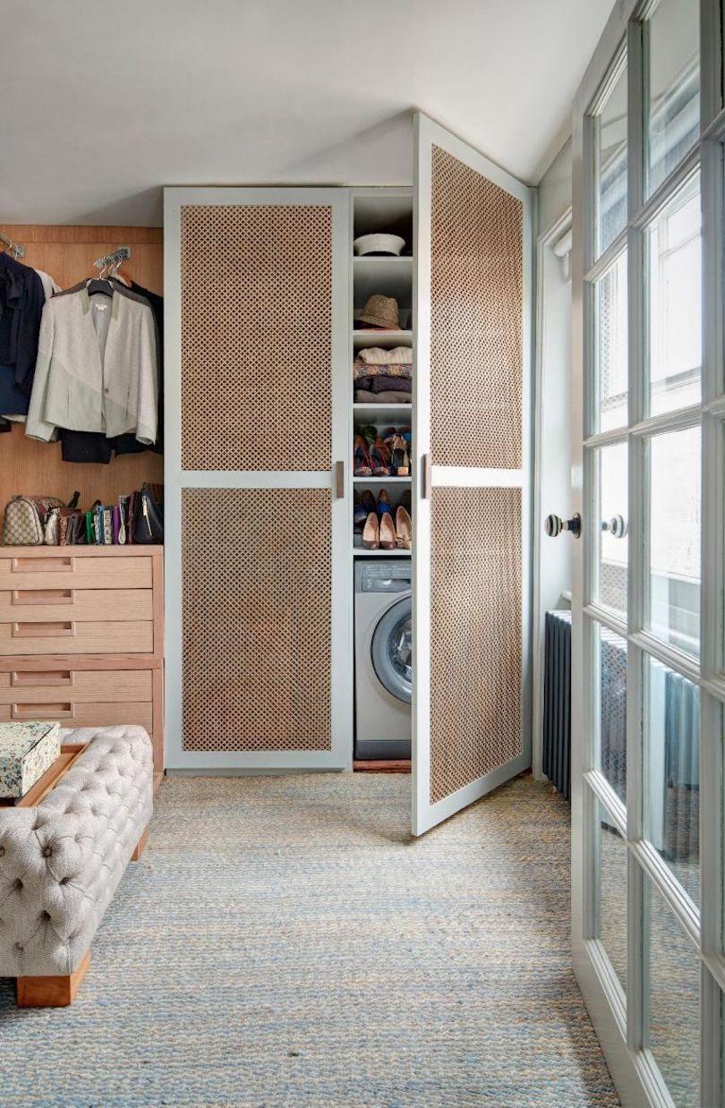 Hidden utility in your bedroom wardrobe