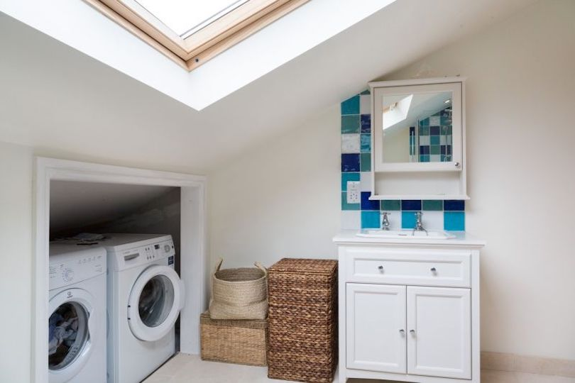 Utility room in the loft area