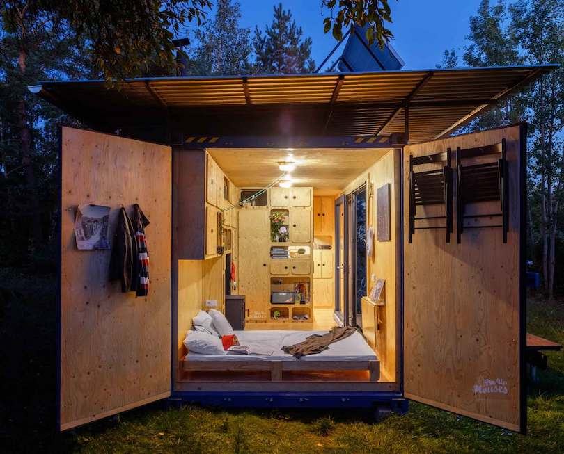 Shipping Container converted to Tiny House by Pin-Up Houses_2