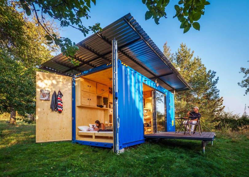 Shipping Container converted to Tiny House by Pin-Up Houses_3