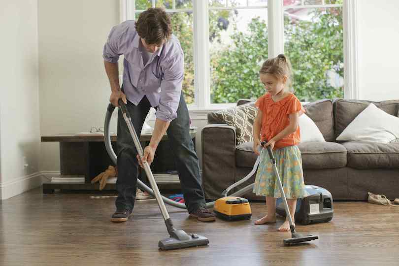 Try 15-minute family nightly clean-up