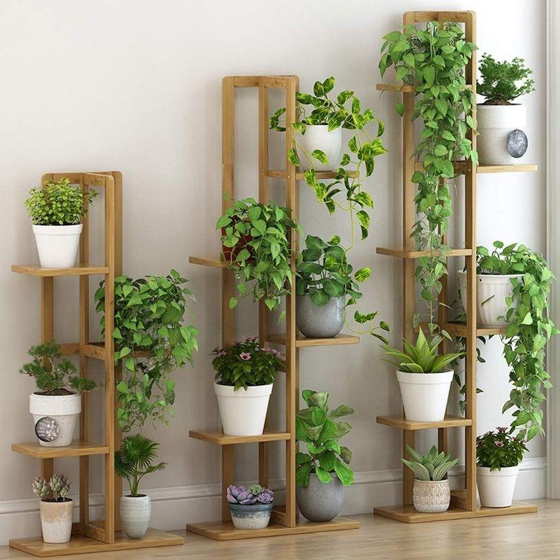 DIY Pot Rack Plant Stand