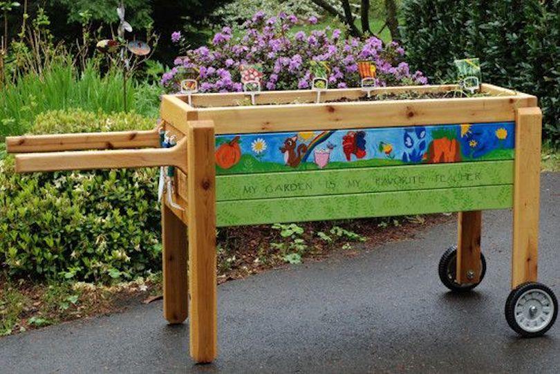 Portable Plant Cart